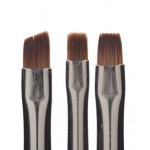Набор кистей The New 3 pc.Flower Brush Set