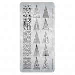 Пластина для стемпинга  Pyramid Elements