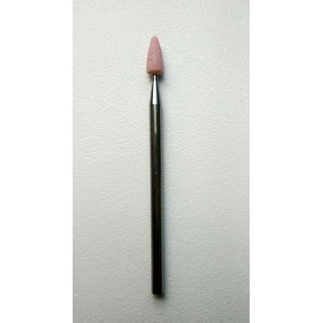 Фреза корунд розовый конус