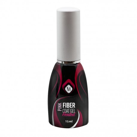 FIBER GEL COAT FROSTED PINK